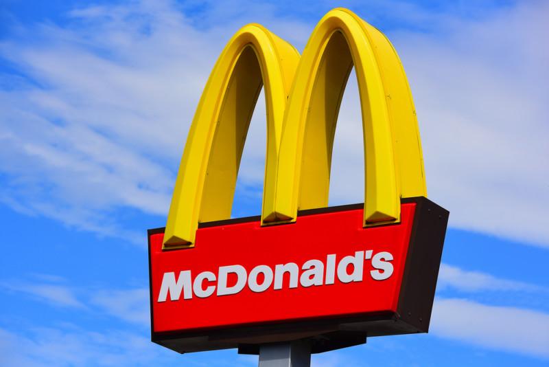 マクドナルドの企業ロゴ1