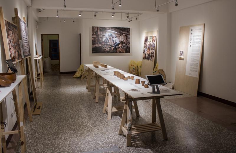 木製品展覧会の会場デザイン