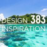 島を案内するチラシデザイン作成例 -#383