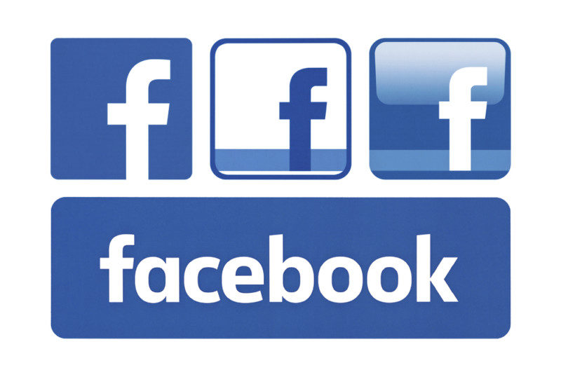 Facebookのロゴデザイン2