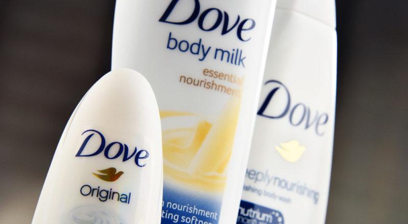 セルフケアブランド「Dove」のロゴマーク
