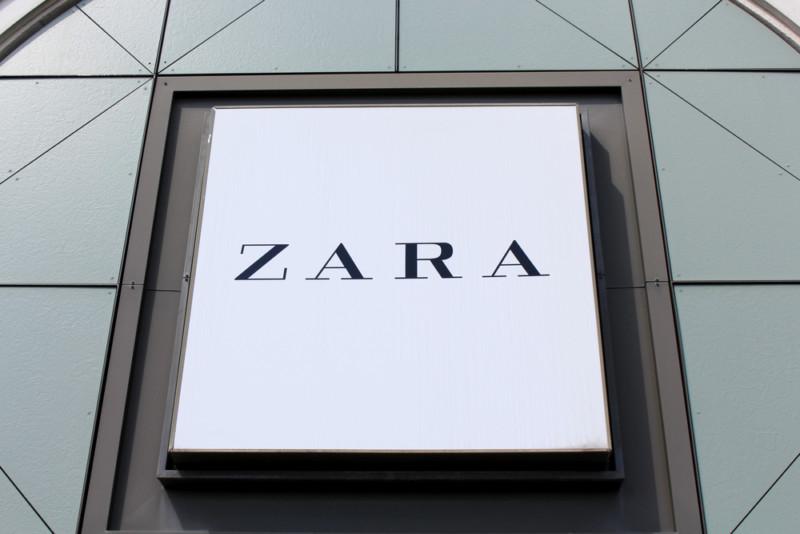 ザラ(ZARA)のロゴ2