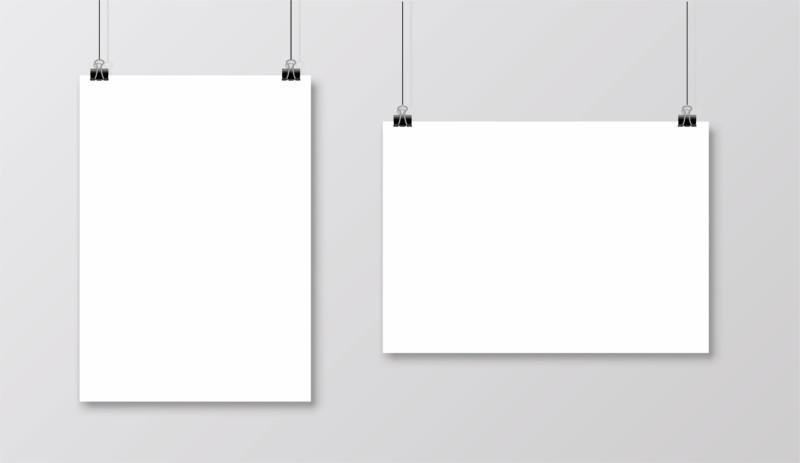 ポスターのサイズ