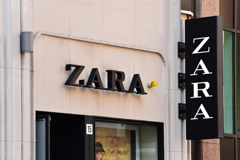 ザラ(ZARA)のロゴ