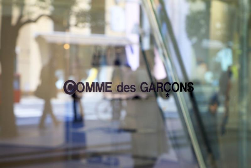 Comme des Garçonsのロゴデザイン