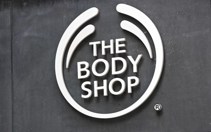 自然派コスメブランド「THE BODY SHOP」のロゴマーク