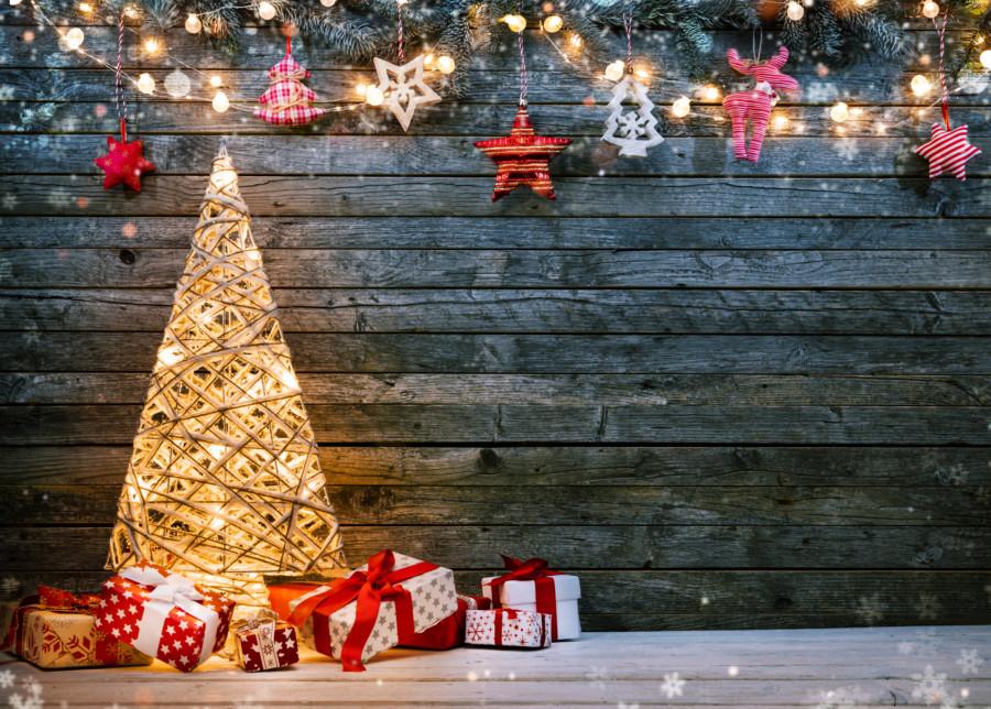 クリスマスシーズンのポスターデザイン制作例について