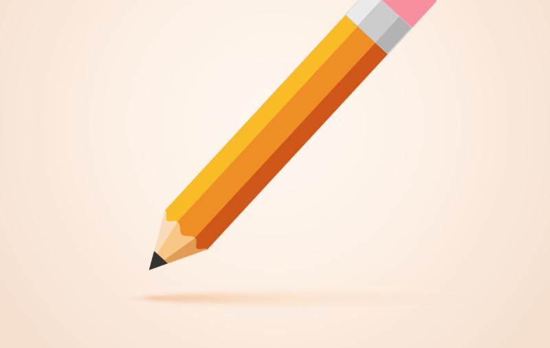 鉛筆をリメイクしたロゴデザイン