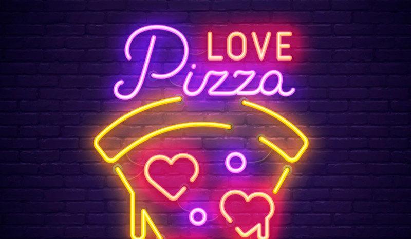 ピザのロゴデザイン