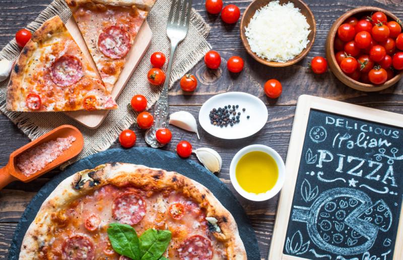 ピザのロゴマーク2