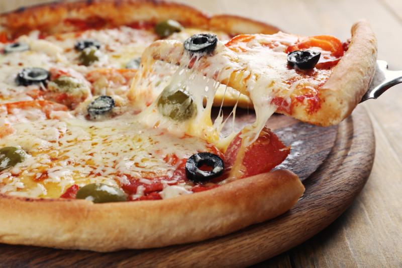 ピザのロゴマーク1
