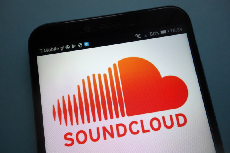 「Sound Cloud」のロゴ