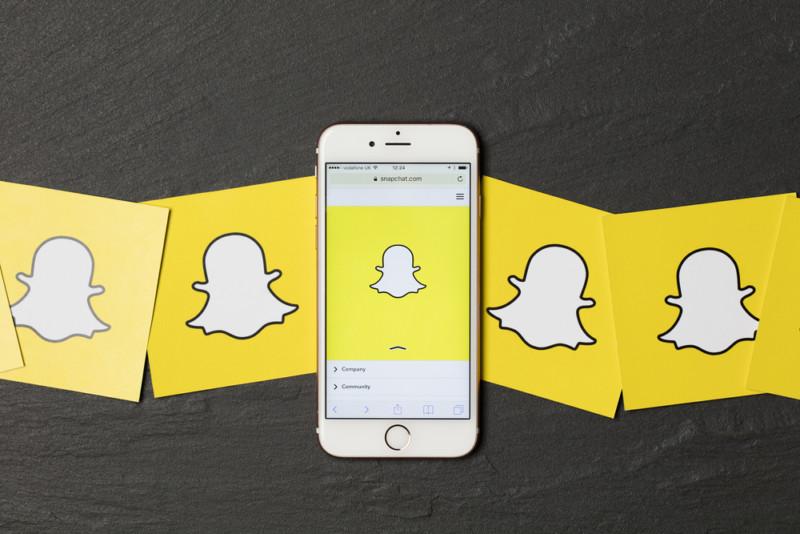 snapchatのロゴデザイン