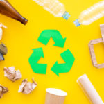 ごみのリデュース・リユース・リサイクルに関するポスター製作例