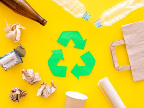 ごみのリデュース・リユース・リサイクルに関するポスター