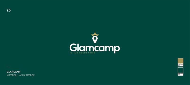 グランピング会社のロゴ