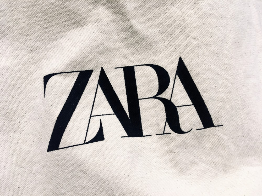 ZARAの新ロゴ