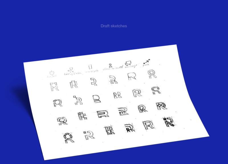 企業ロゴの原型1