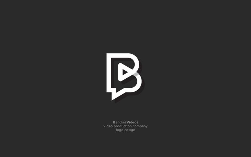 映像サービスのロゴデザイン