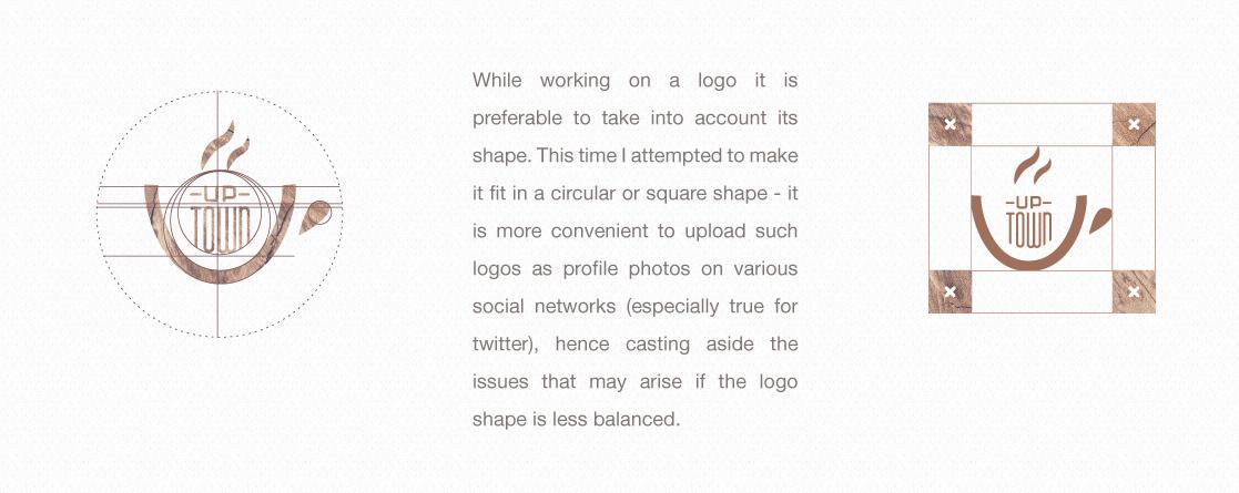 カフェのロゴの分析