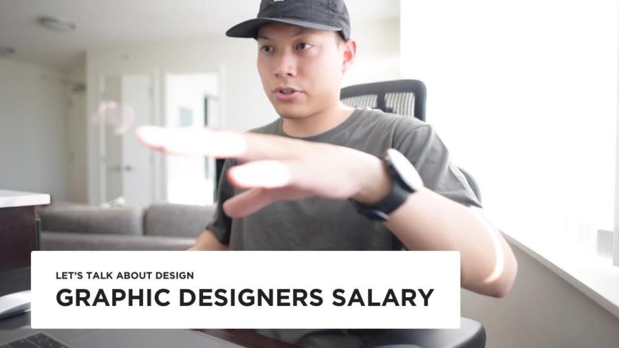 グラフィックデザイナーの収入について