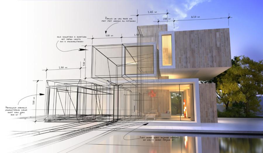 不思議な形をした建築物を紹介する動画