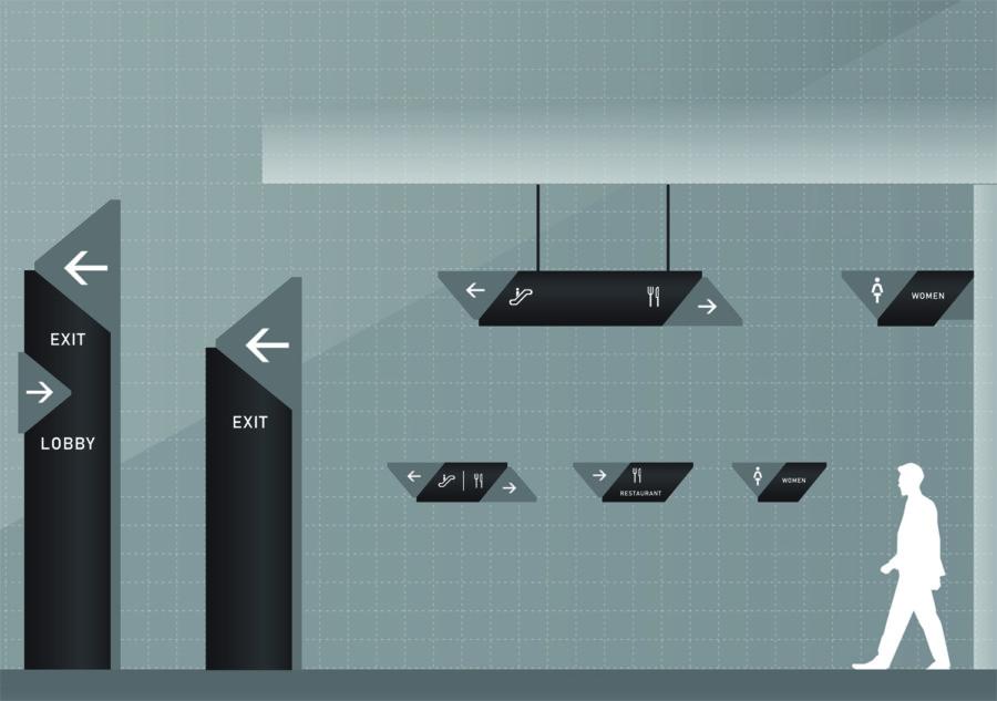 看板のデザイン作成例について