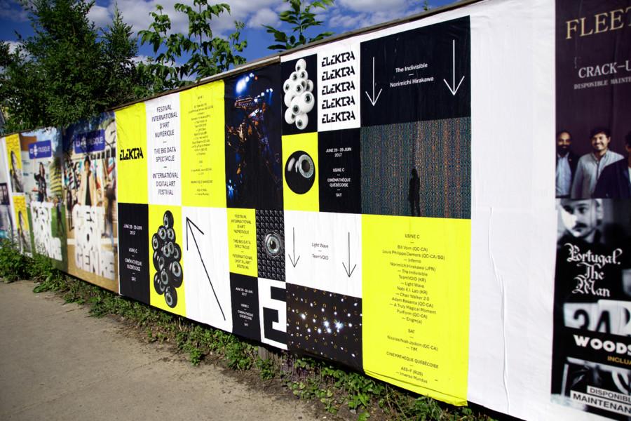 アートフェスティバルのポスター展開2
