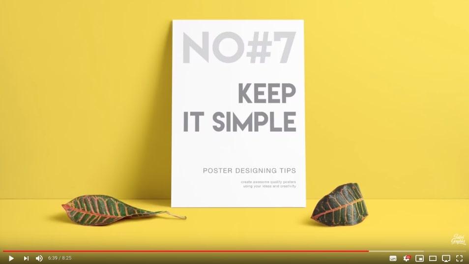 ポスターデザインのコツ7