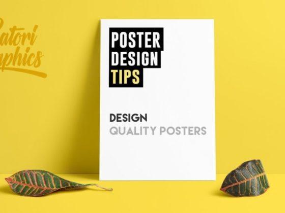 クオリティの高いポスターをデザインするための7つのヒントについて