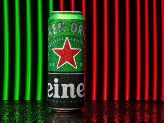 ハイネケンのビール缶の新デザイン