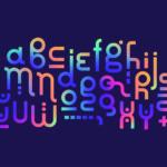 ユニークな文字の構成が印象的なポスターデザイン制作例