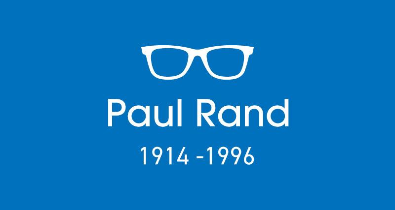 Paul Rand-ロゴデザイナー