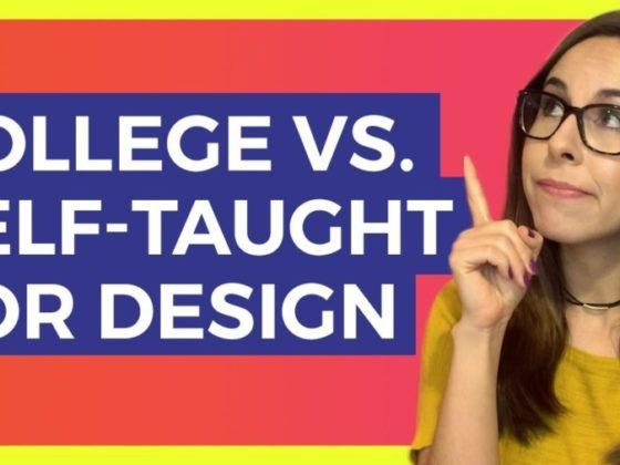 デザインの勉強は大学に行くべき?独学でもOK?