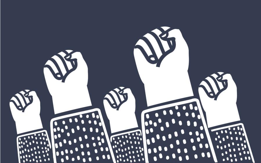 手をモチーフにした人権的・社会的ポスターについて