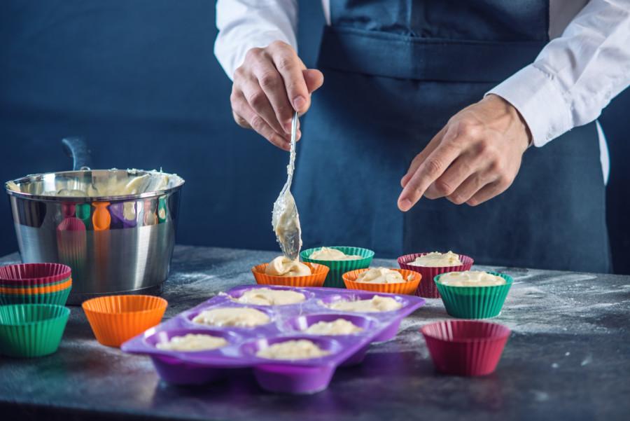 お菓子や料理のレシピ動画作成例について