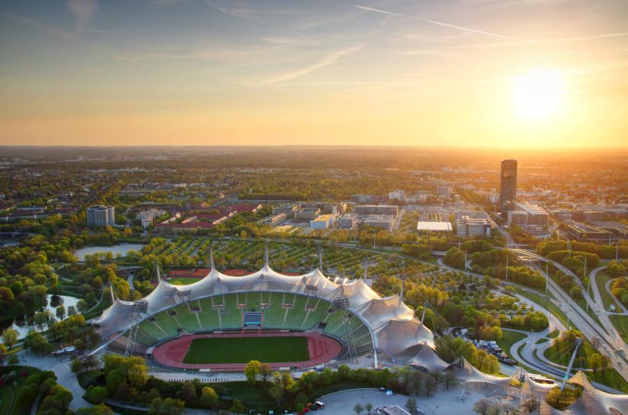 ミュンヘンオリンピック会場