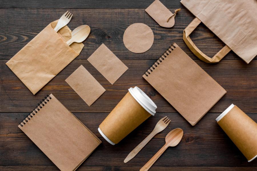 おしゃれでエコな紙袋のデザイン