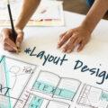 文字に文字を重ねたデザイン性の高いポスターデザイン