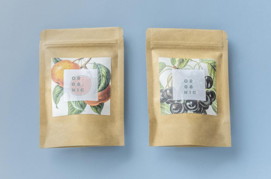 思わず目を引くお茶のパッケージデザイン