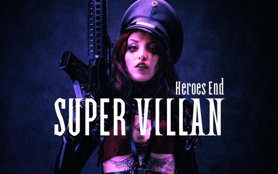 フリーフォント「SUPER VILLAN」