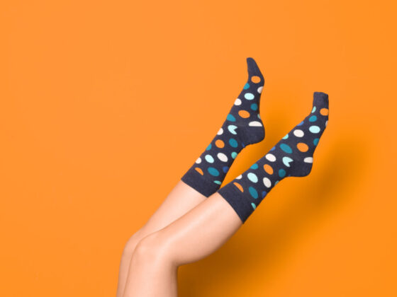 飾っておきたくなる靴下のパッケージデザインについて