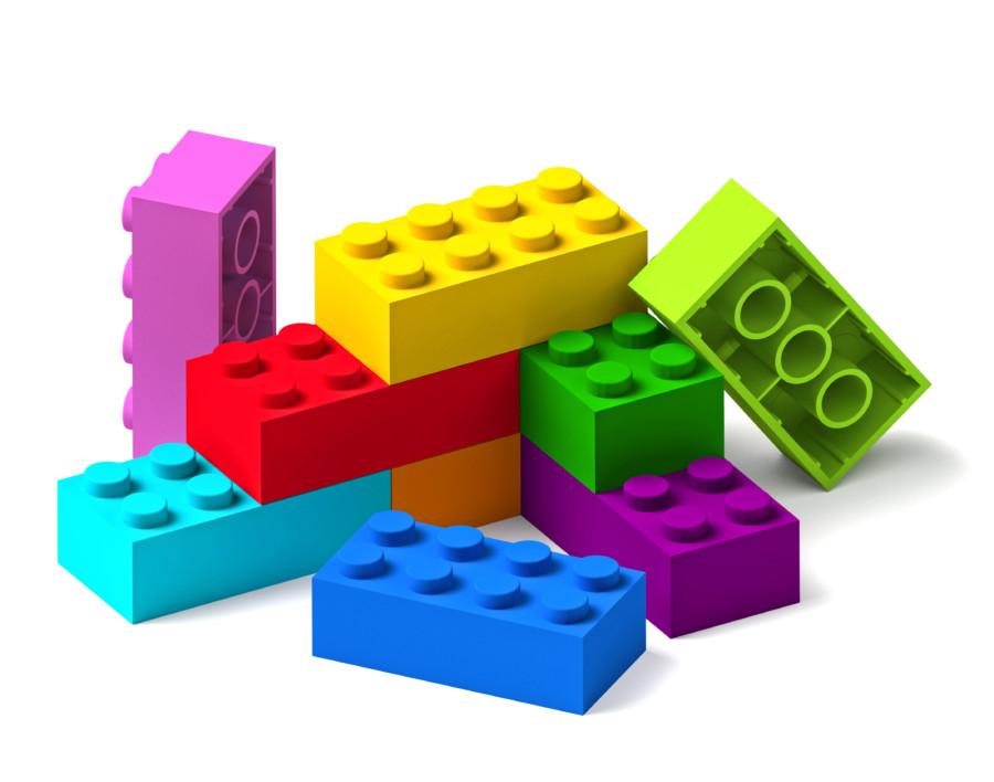 ぎゅっと魅力が詰まったレゴの広告デザイン