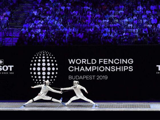 フェンシング世界選手権2019のロゴ