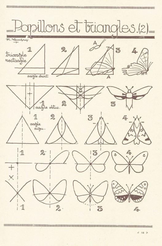 蝶の描き方2