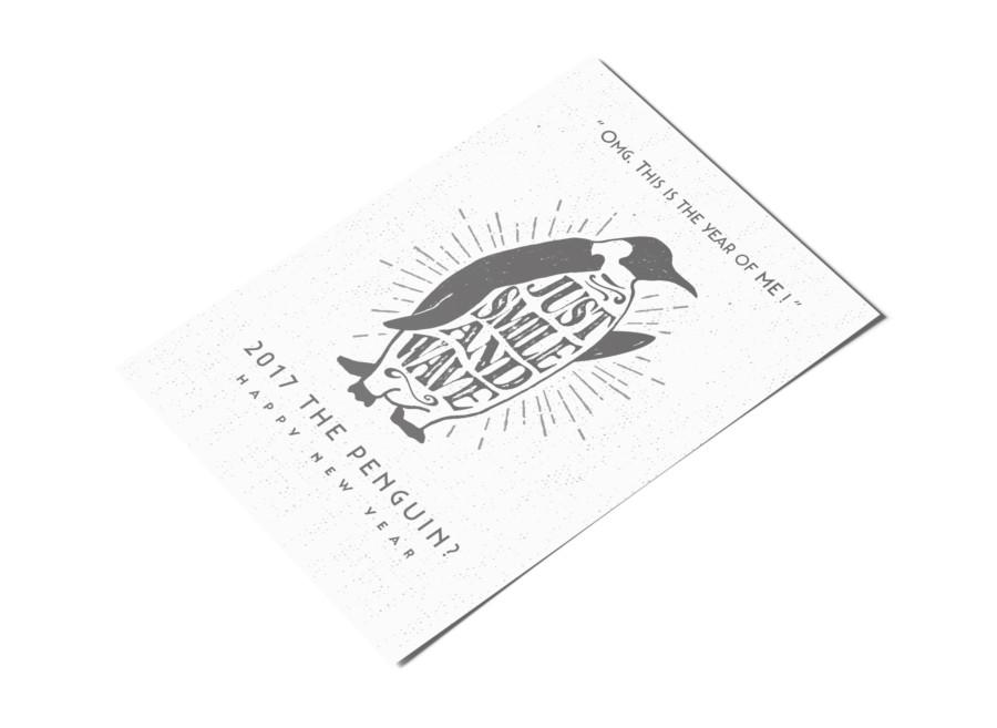 酉年の年賀状デザイン