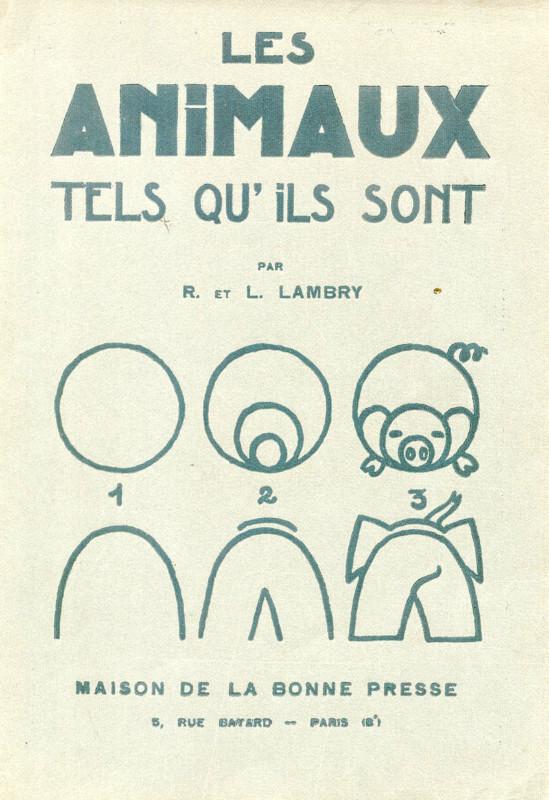 フランスの書籍「Les Animaux tels qu'ils sont」