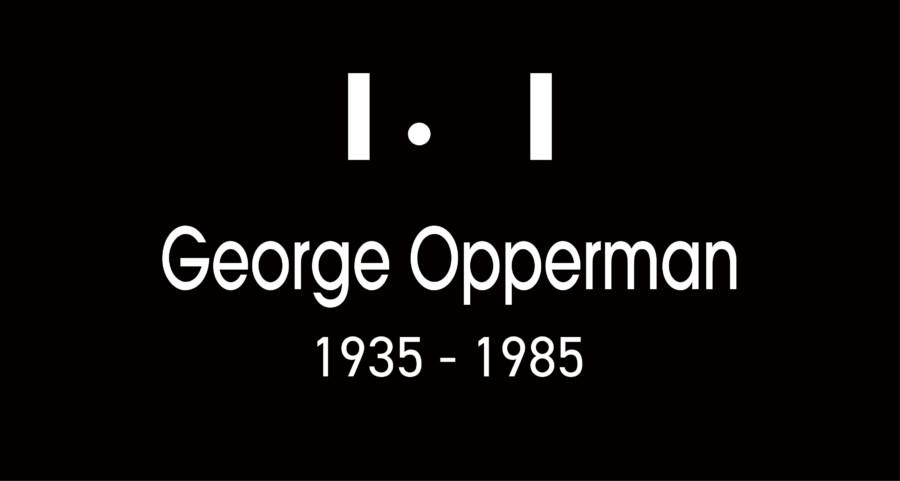 George Opperman_デザイナーアーカイブ