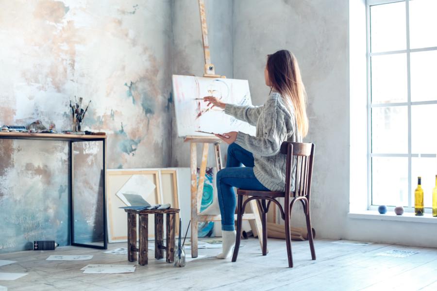 アート作品を収めたクリエイティビティを揺さぶられる動画について