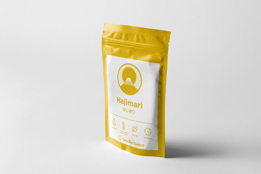 1日のはじまりを想起させるのお茶のパッケージデザイン2
